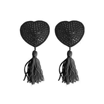 Billede af Brystsmykker i hjerteform