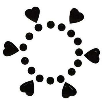 Billede af Brystvortesmykke Rhinsten Stickers