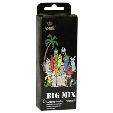 Billede af Big Mix Kondomer - 30 stk