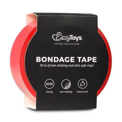 Billede af Easytoys Bondage Tape - Rød