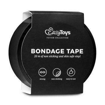 Billede af Easytoys Bondage Tape - Sort