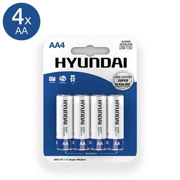Billede af Super Alkaline AA Batterier - 4 stk