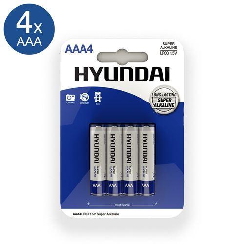 Billede af Super Alkaline AAA Batterier - 4 stk