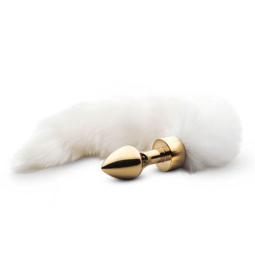 Billede af Butt Plug med Hale No. 15 - Guld