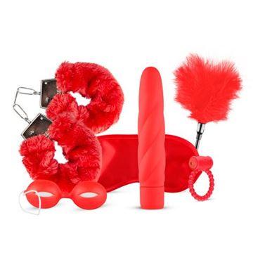 Billede af Sexlegetøjs Sæt - I Love Red