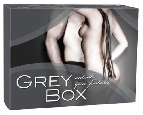 Billede af Grey Bondage Gift Box