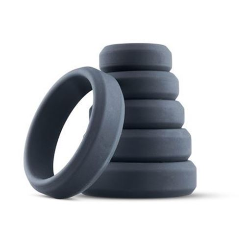 Billede af 6-Piece Penis Ring Set