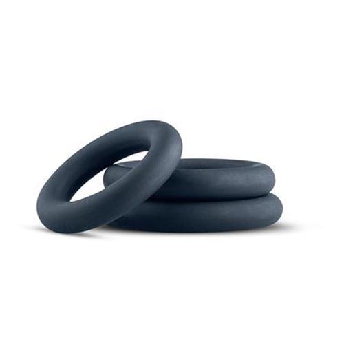 Billede af Boners 3-Piece Cock Ring Set - Grey