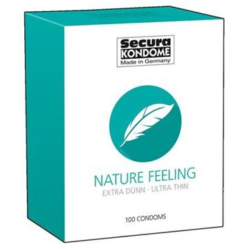 Billede af Naturlige kondomer - 100 stk