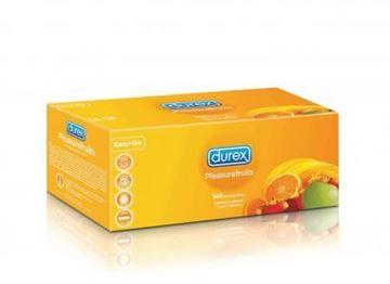 Billede af Kondomer med 4 slags smage - 144 stk - billigt