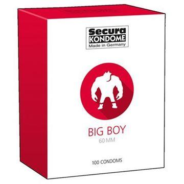Billede af Big Boy Kondomer - 100 stk