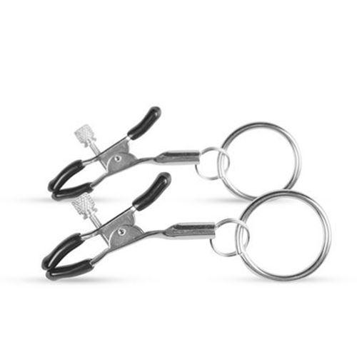 Billede af Metal Nipple Clamps With Ring