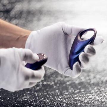 Billede af Hueman - Luksus Vibrator Cock Ring med fjernbetjening