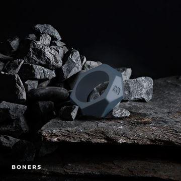 Billede af Boners Diamond Cock Ring - Grå